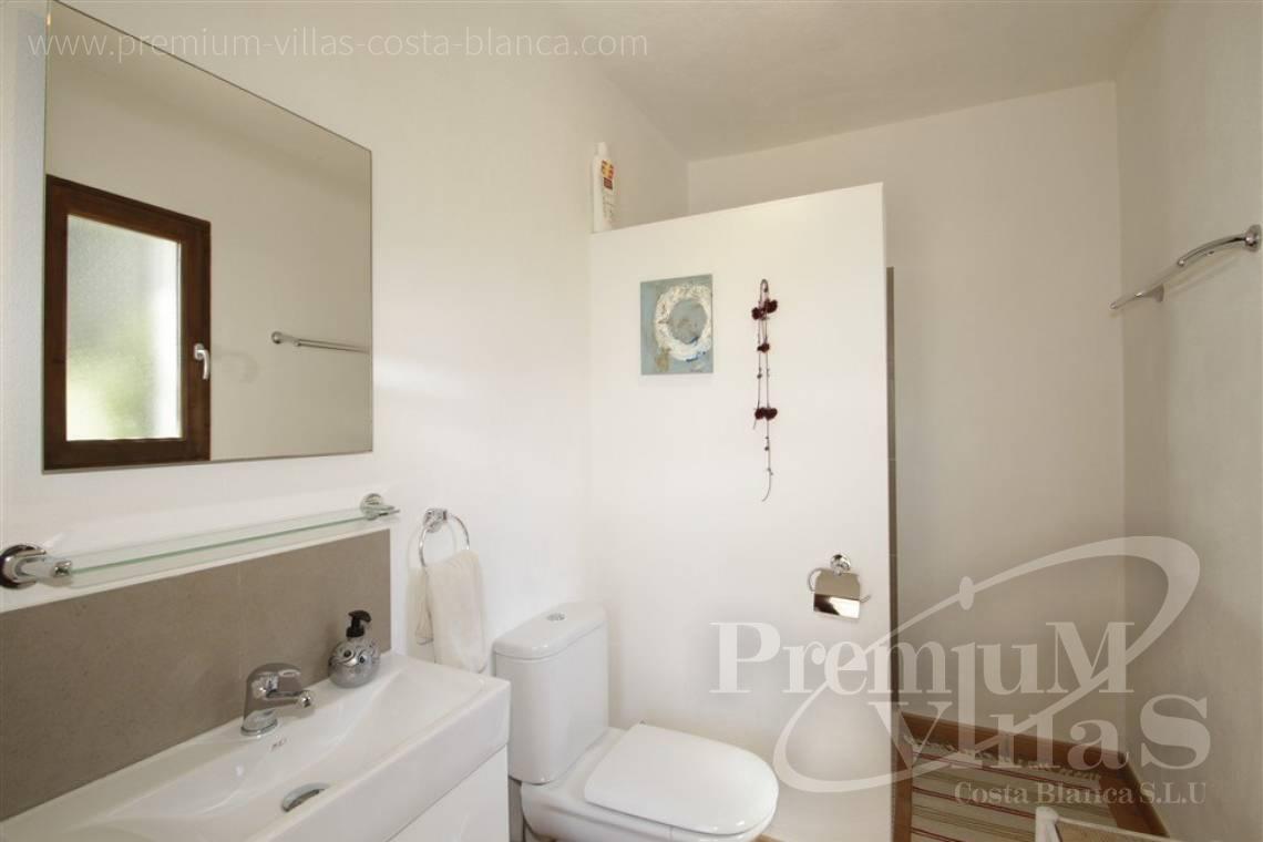 huis kopen Moraira Costa Blanca Spanije Villa in Ibiza-stijl in El ...