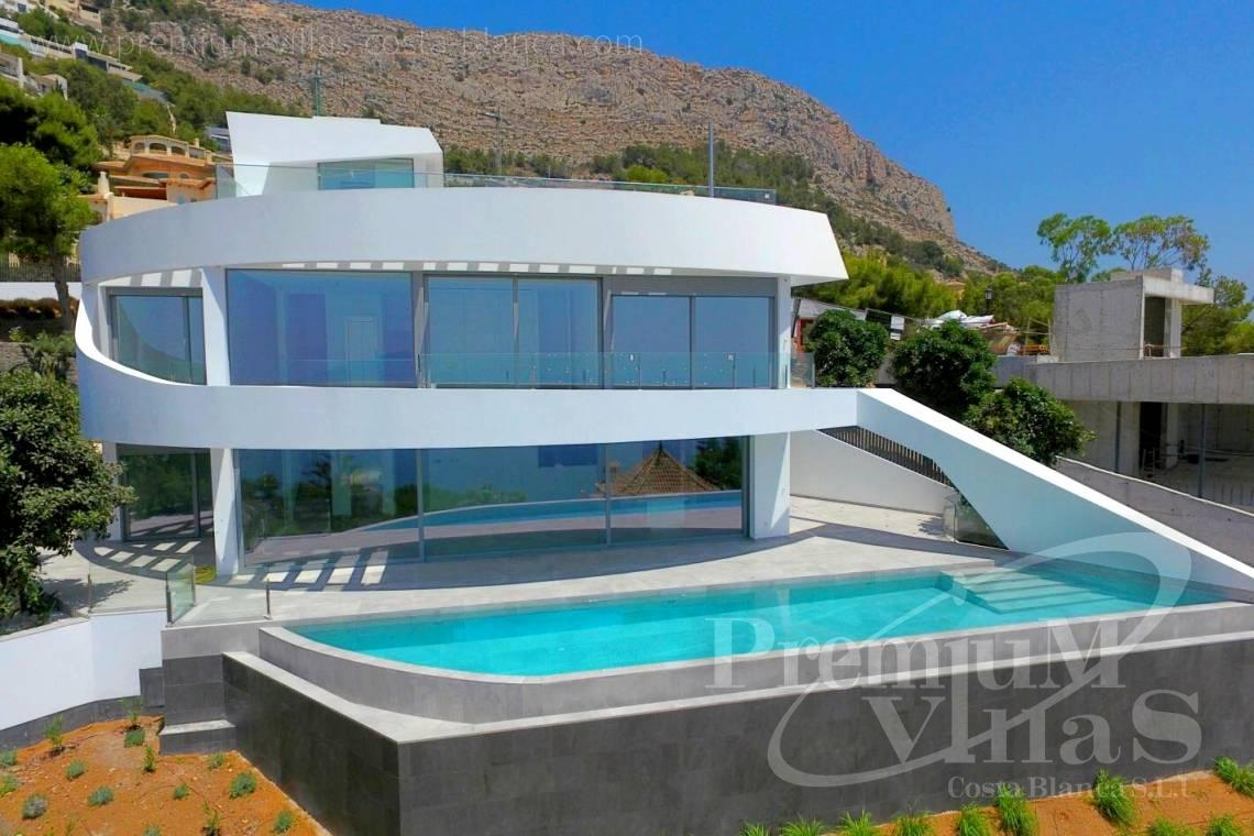 Gloednieuwe luxe villa in altea hills met fantastisch uitzicht op zee
