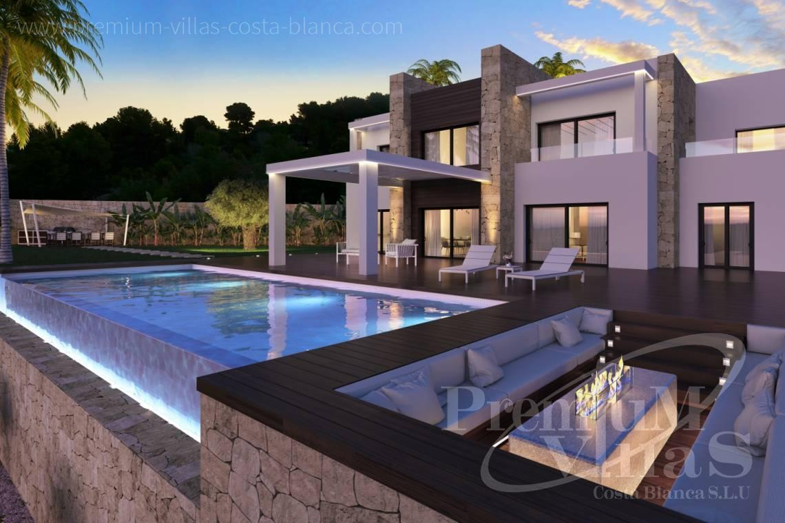 luxe villa benissa costa blanca spanije modern en luxe villa met fantastisch uitzicht op zee in. Black Bedroom Furniture Sets. Home Design Ideas
