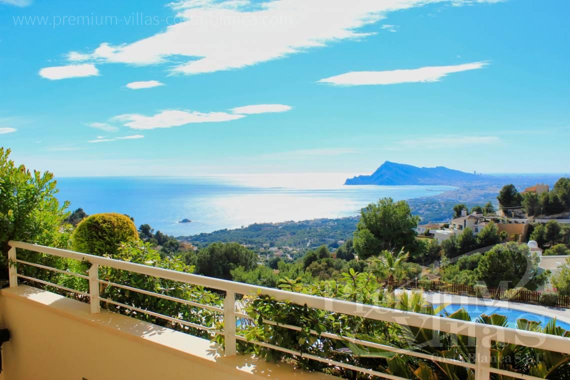 Penthouse appartement  met zeezicht Altea Costablanca - A0436 - Top gerenoveerd appartement in Panorama Hills, Altea 1