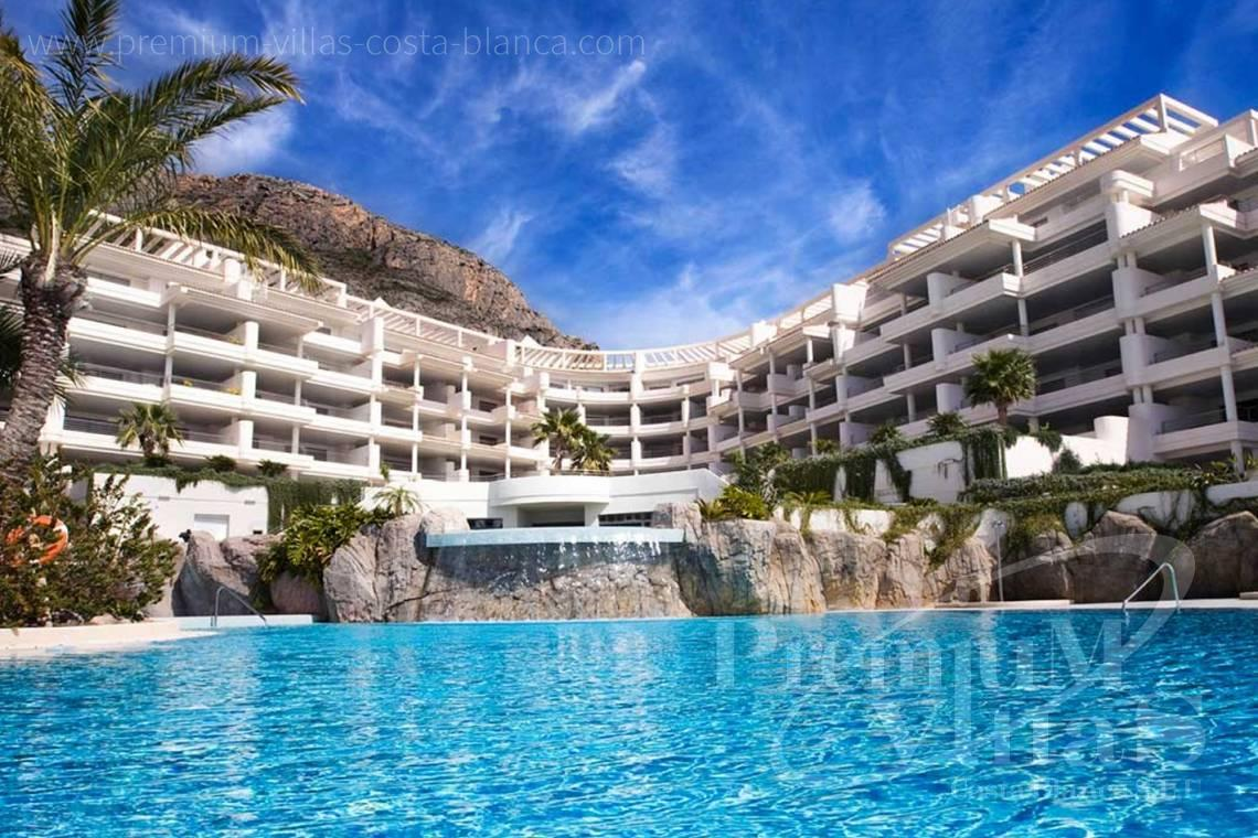 2 slaapkamers luxe appartement in residentieel Mascarat Beach Altea Costa Blanca - A0606 - Erste lijn appartement in residentieel Mascarat Beach 26
