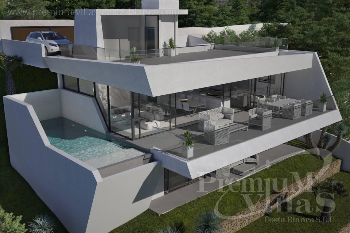 Altea hills luxe villa nieuwbouw met open zeezichten op unieke locatie